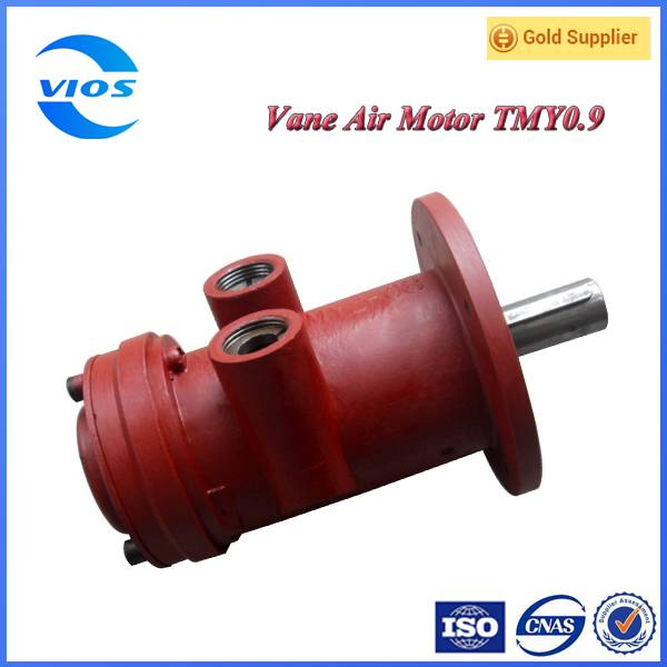 Flange type air motor