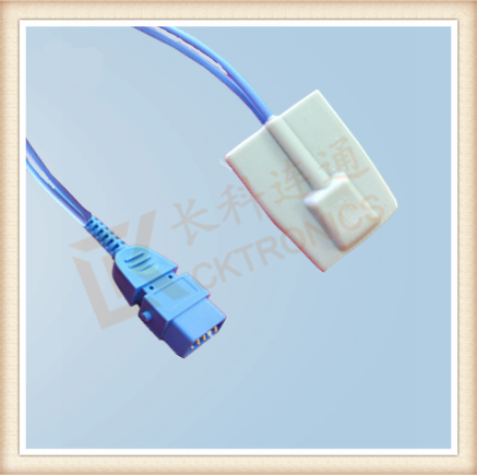 BCI DB9 Pin Pediatric Silicone Soft Tip SpO2 Sensor