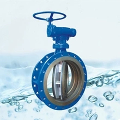 EPDM lined Soft seal flange butterfly valve for water
