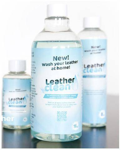 detergent for leather cleaning and leather goods