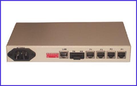 4Voice(FXS/FXO) over Fiber,phone over fiber multiplexer