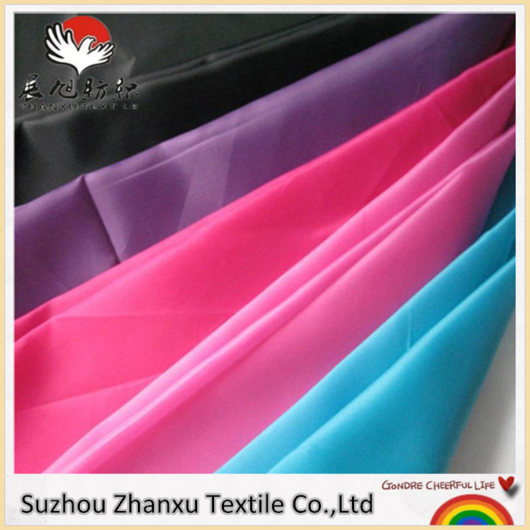 Chinese supplier 100%polyester Taffeta 190T waterproof