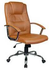 easysourcing chrome base and chrome armrest office chair