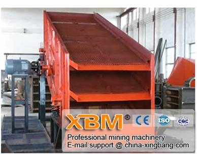 Supply good quality sand vibrating screen (2012 new type)
