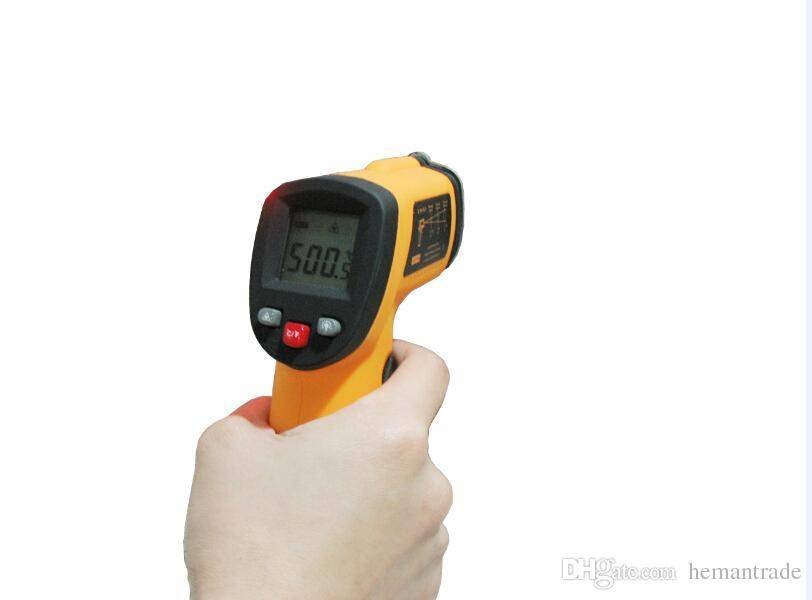 Benetech GM300 Non-Contact LCD Digital Infrared Thermometer Pyrometer Laser Point Temperature Meter