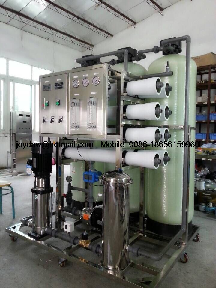 2000L/H RO system water purification line