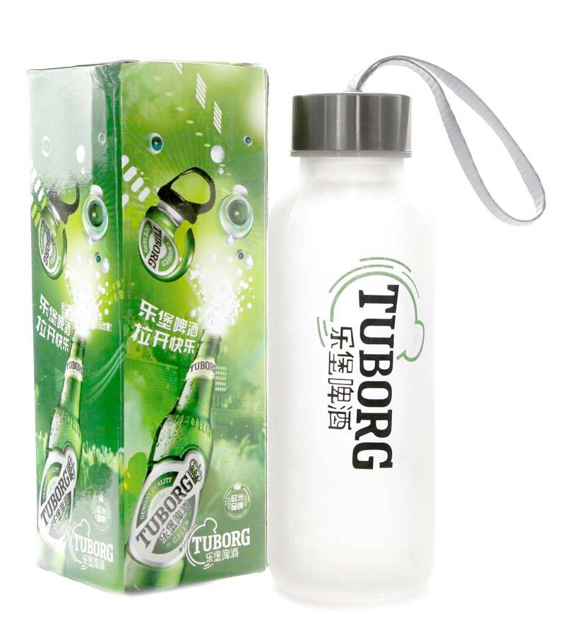 Portable bottle, sports cup, glass drinking cup, portable drinking bottle,