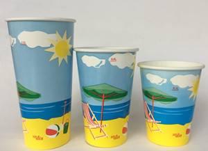 Milkshake cold drink paper cup