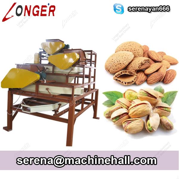 Almond Shelling Machine|Almond Shell Cracking Machine|Hazelnut Shell Removing Machine