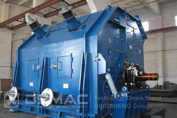 Reversible hammer type coal crusher for sale