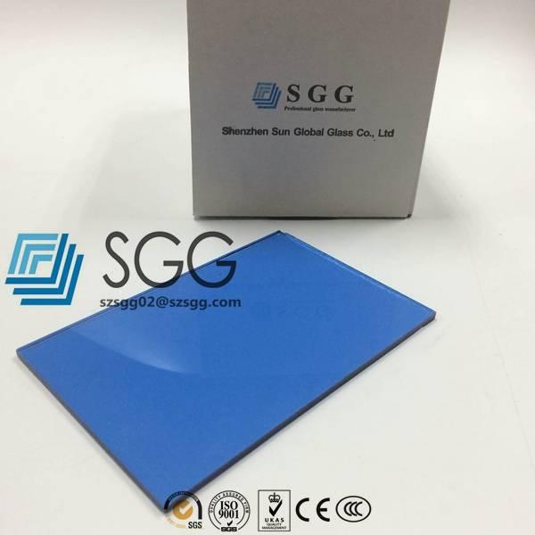 4mm 5mm 5.5mm 6mm 8mm 10mm 12mm Dark Blue Tinted Float Glass Price