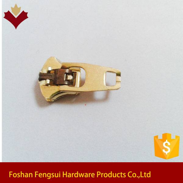 China spring lock metal zipper slider