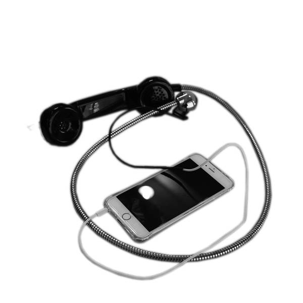High Quality public phone handset prison telephone with robust handset industrial corded handset