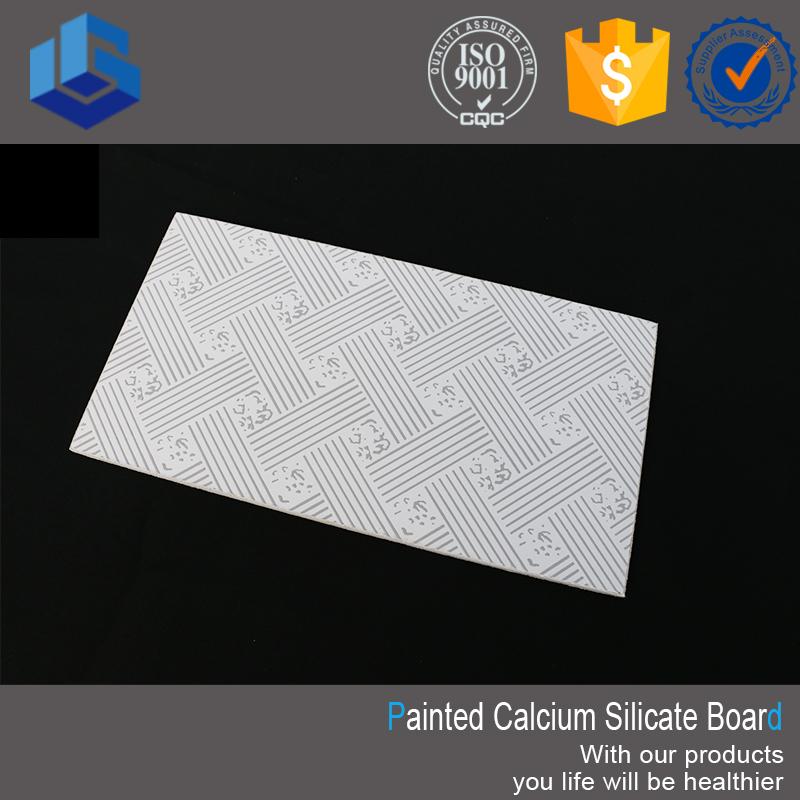 Decorative Embossed Calcium Silicate Ceiling Board