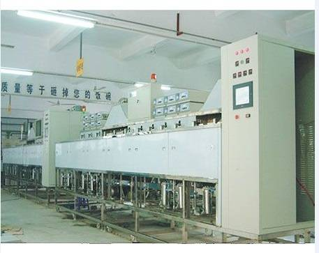 Automatic optical cleaning machine