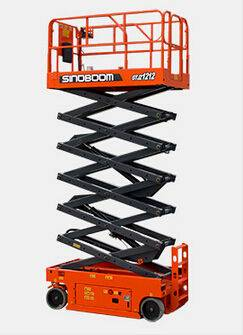 Electric Scissor Lift with Lifting Height 13.9m,Capacity 320kg(GTJZ 1212)