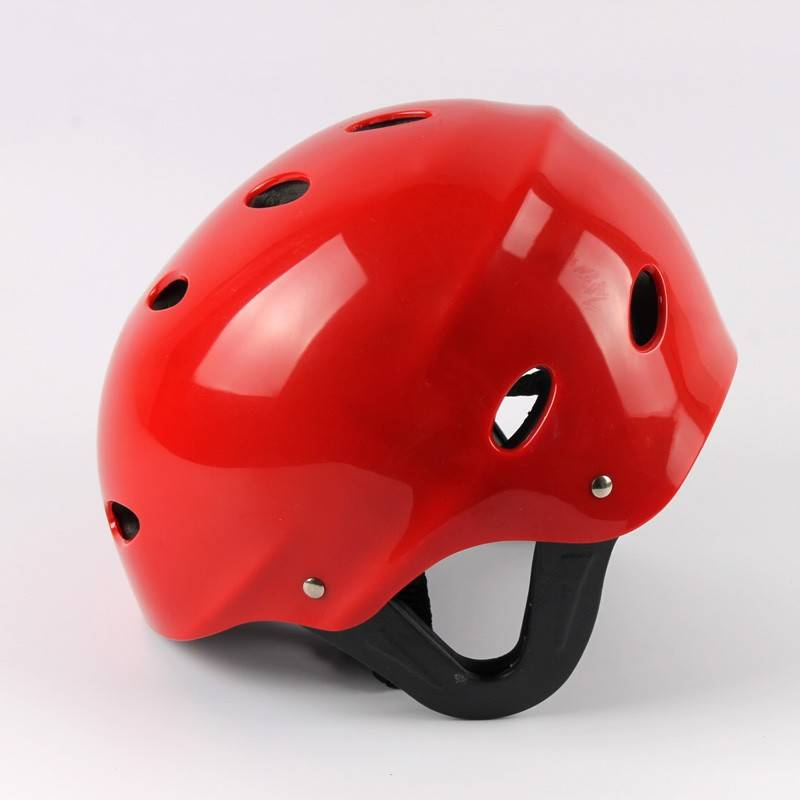 11 Holes Rafting Helmets Water Sking Helmet ABS Shell EVA Soft Black Liner