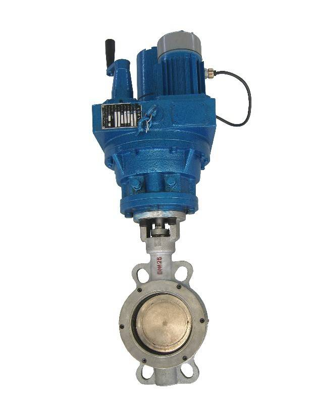 Electric butterfly valve ZAJW