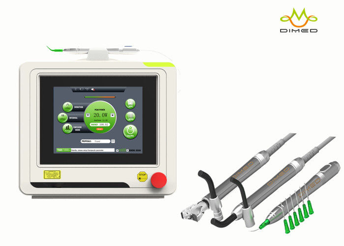 GaAlAs Diode Soft Tissue Dental Laser Treatment Machine Non Invasive Safety