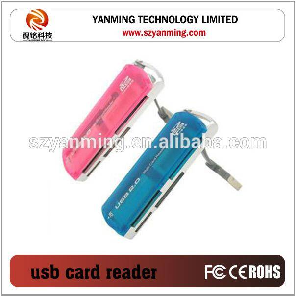 multi card reader 4 IN 1 usb card reader writer