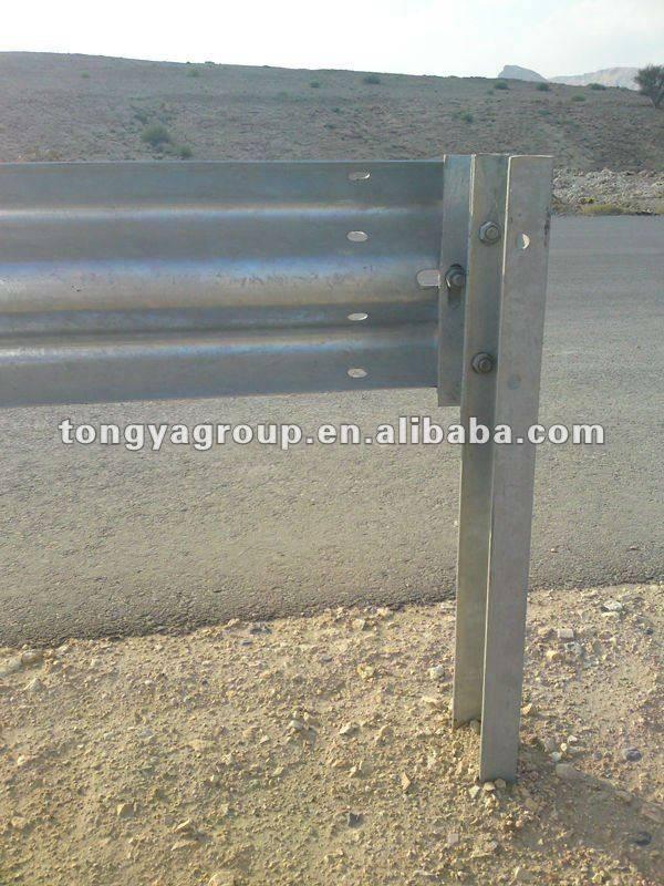 Corrugated Metal Beam AASHTO Highway Safety Guardrails