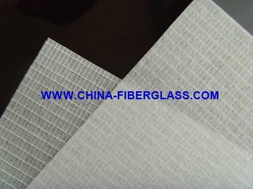 Reinforced  fiberglass mat