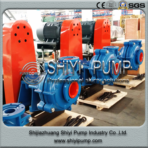 Ah Pump Wear Resistant Mining Waste Water Treatment Slurry Centrifugal Pump