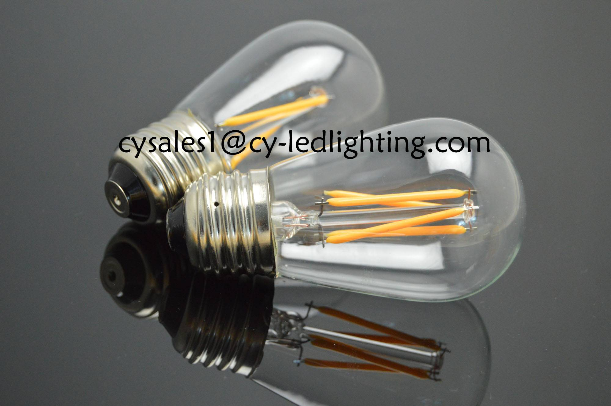 S14 ST45 popular filament led bulb decorate bulb