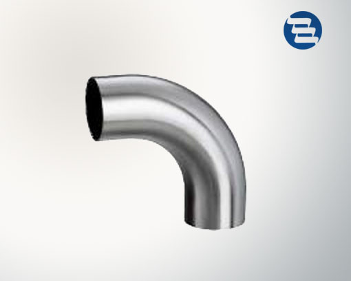 Sanitary Stainless Steel Welded Clamped End 45 90 Degree Elbow