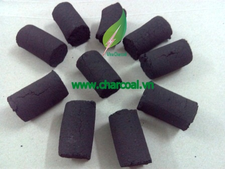New shape coconut briquette in Finger for Hookah shisha with steady quality