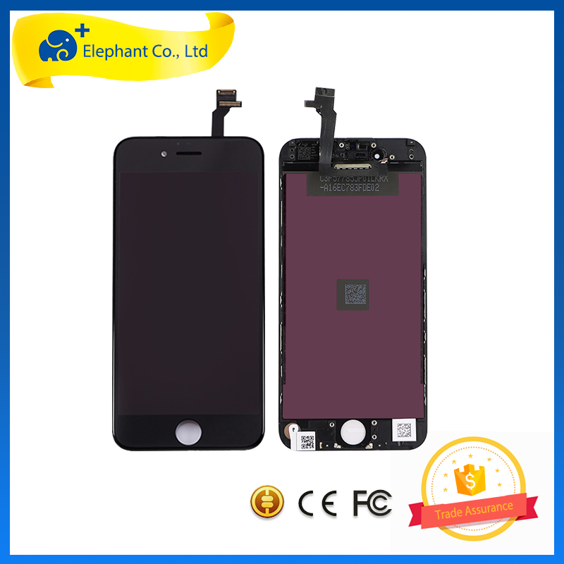 Black Color LCD Display Screen Digitizer for iPhone 6S 4.4 Inch On Sale