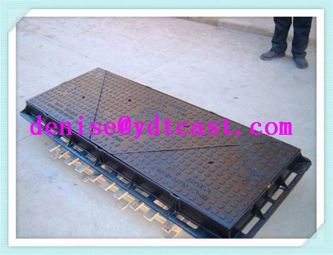ductile iron jrc 12 carriageway manhole cover