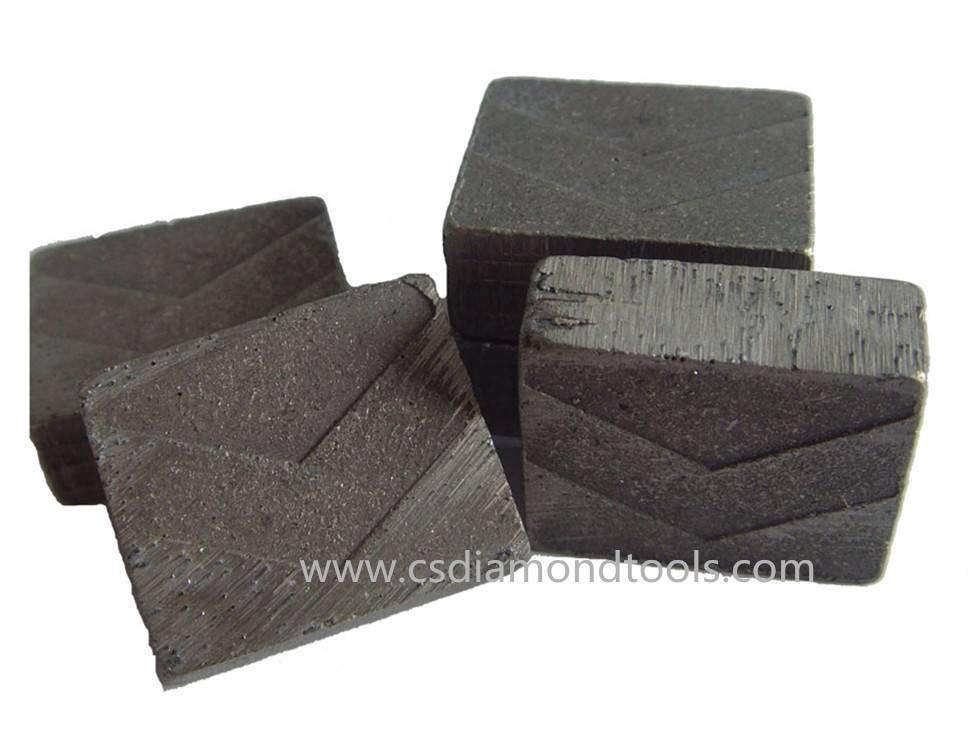 customizable diamond segment for granite cutting segment for saw blade