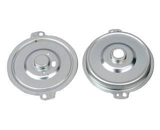 stamping steel bearing plate motor cover