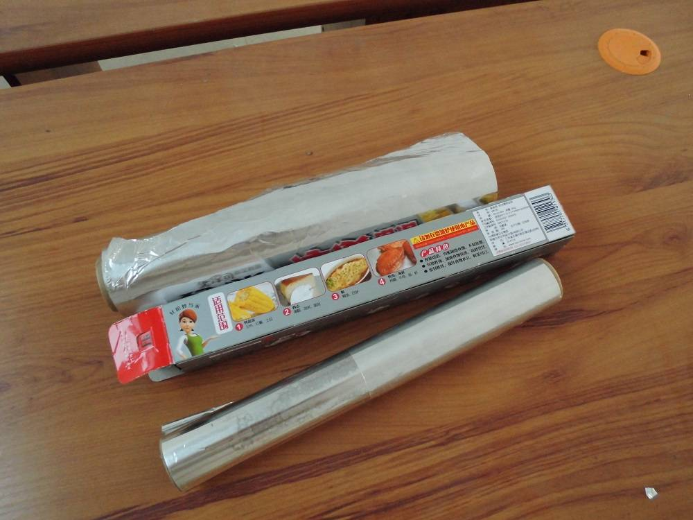 Household aluminum foil with food grade