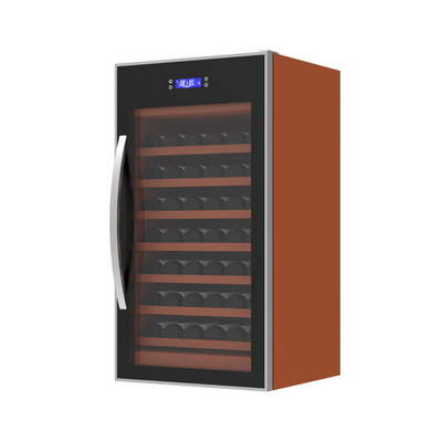Wood wine refrigerator design and development