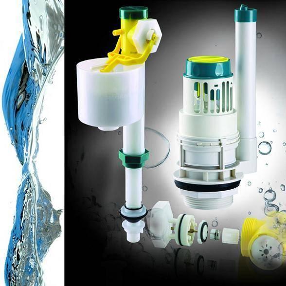 "Most durable toilet repair kit/ Ultra quiet fill valve+3"" single flush"