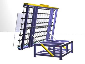 Glass Handling Tables & Conveyors