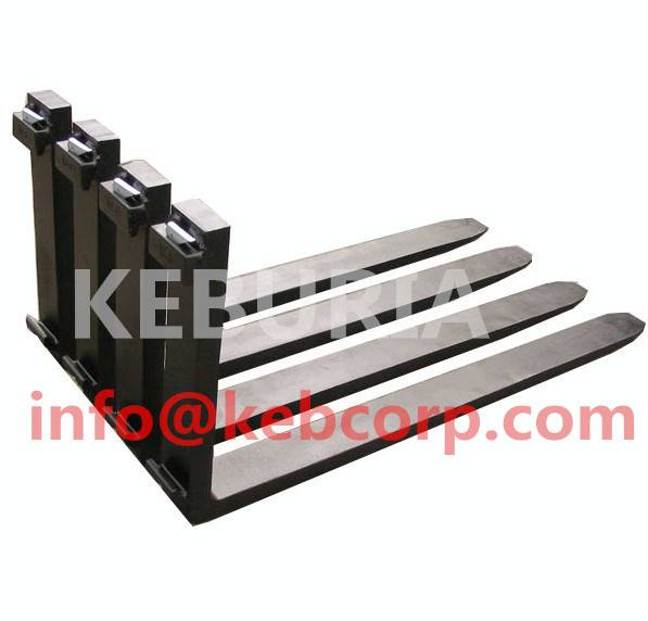 forklift fork arm high quality ISO2328 standard steel bar hook type  ITA fork 4.0T
