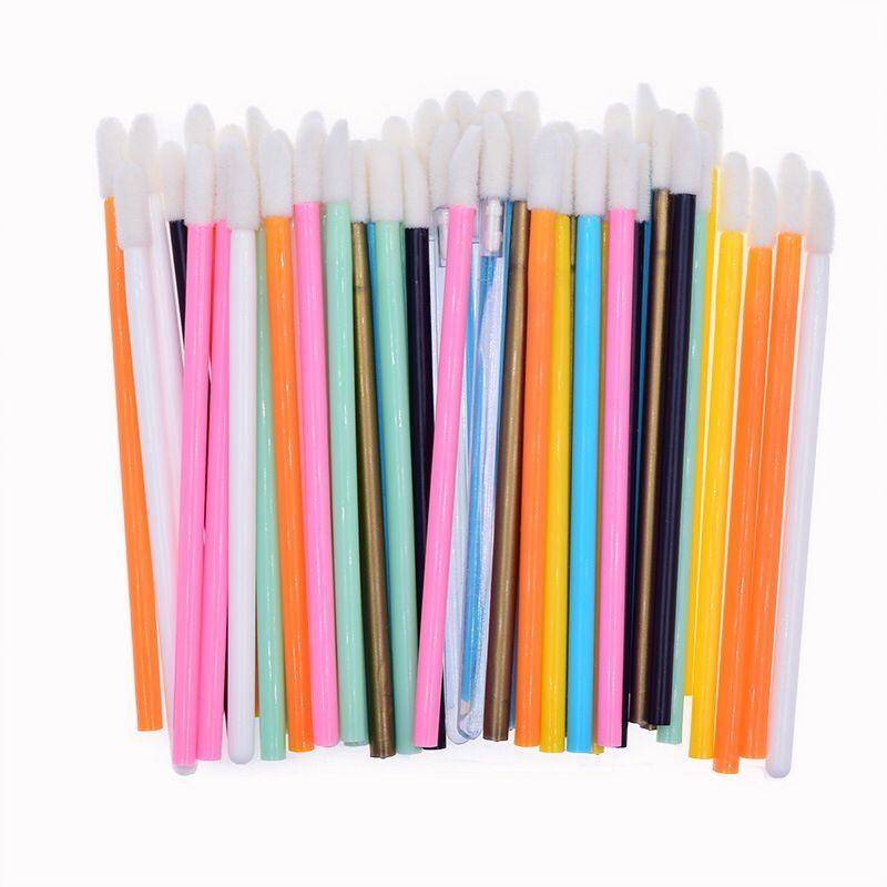 Wholesale cheap price Disposable Lip Brush Gloss Lipstick Wands Applicator Disposable Makeup wand