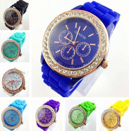 100% food grade silicone watch wrist watches