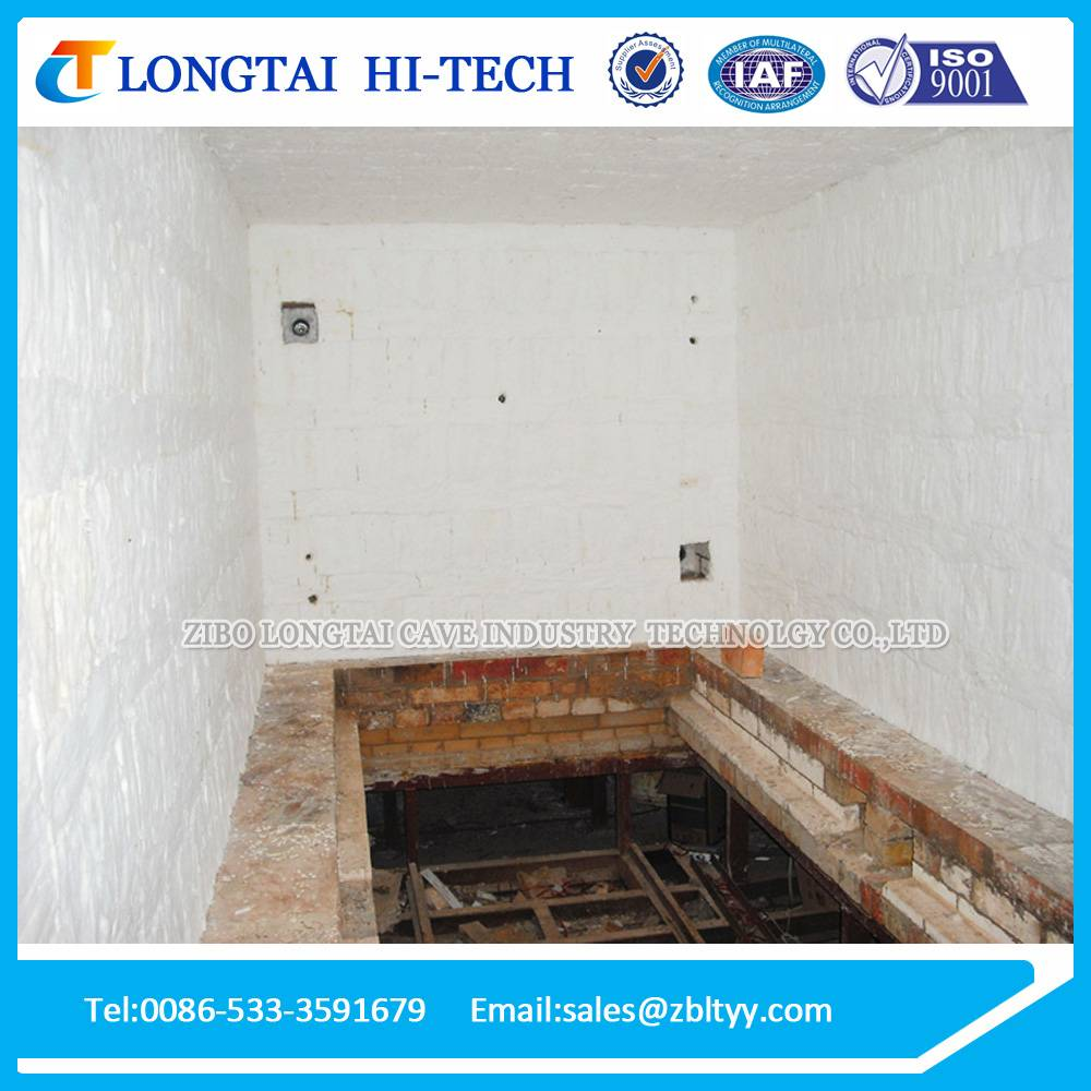 High Efficiency 5 Cubic Meter Gas Ceramic Furnace For Heating