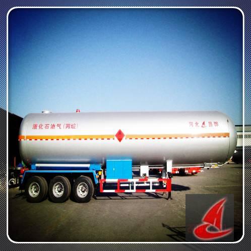50800L Liquid Propylene tanker semi trailer