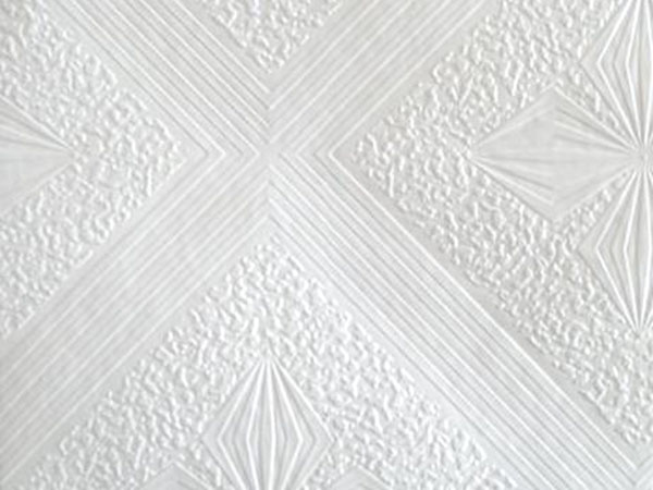 Decorative PVC Coating Laminated Gypsum Ceiling Board for Hotel, Office, Homes and Schools etc.