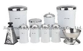 new design kitchen canister set slim shape