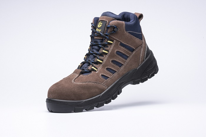 Middle steel toecap safety shoes