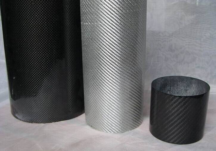 large diameter big carbon fiber tube