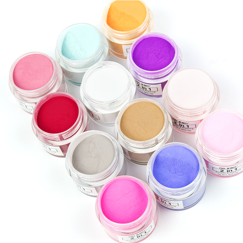 OEM/ODM Private Label 2in1acrylic dipping powder wholesale bulk acrylic nail acrylic powder