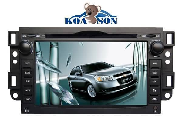 Chevrolet Epica/Lova Car DVD GPS Player with 7-Inch Touch Screen/Cabnus/DTV(optional)/Radio(RDS)/BT