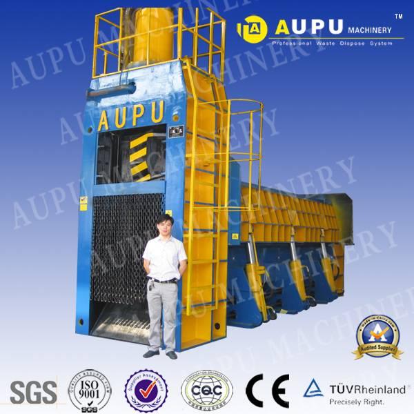 Aupu Scrap Metal Hydraulic Shear Baler
